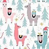 Llama Holiday Wrapping Paper