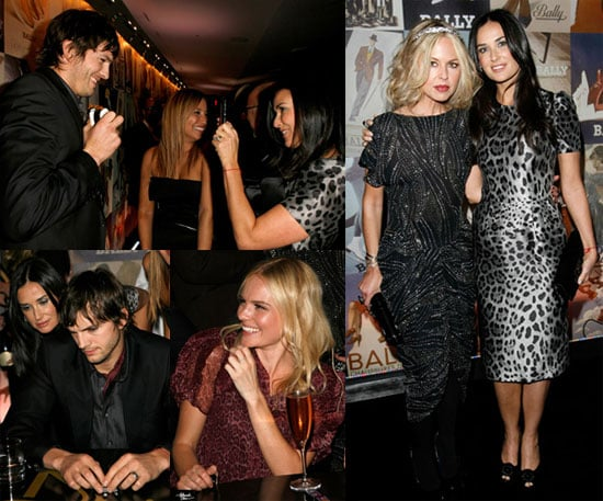 Photos of Demi Moore, Ashton Kutcher, Rachel Zoe, Kate Bosworth at Domino Art of Elysium Party in LA