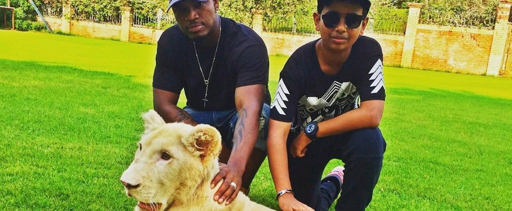 Why You'll Be Seeing a Lot Less Pictures of Celebrities Posing With Wild Animals in Dubai
