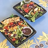 Jolly Holiday Bakery Café: Grilled Chicken Mediterranean and Grilled Vegetables and Whole-Grain Salad