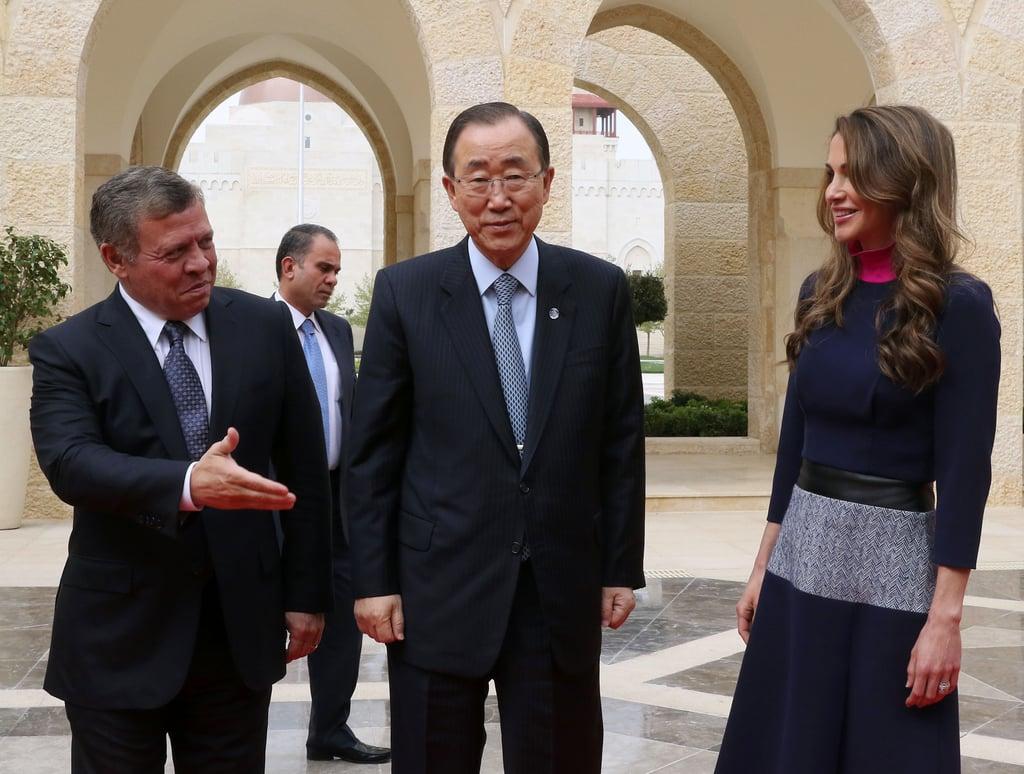 Queen Rania's Fendi Bag