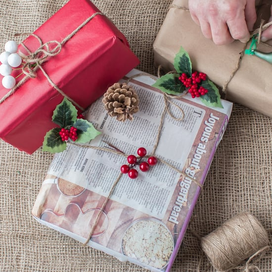 Wrapping Holiday Gifts in Newspaper Is Sustainable and Sweet