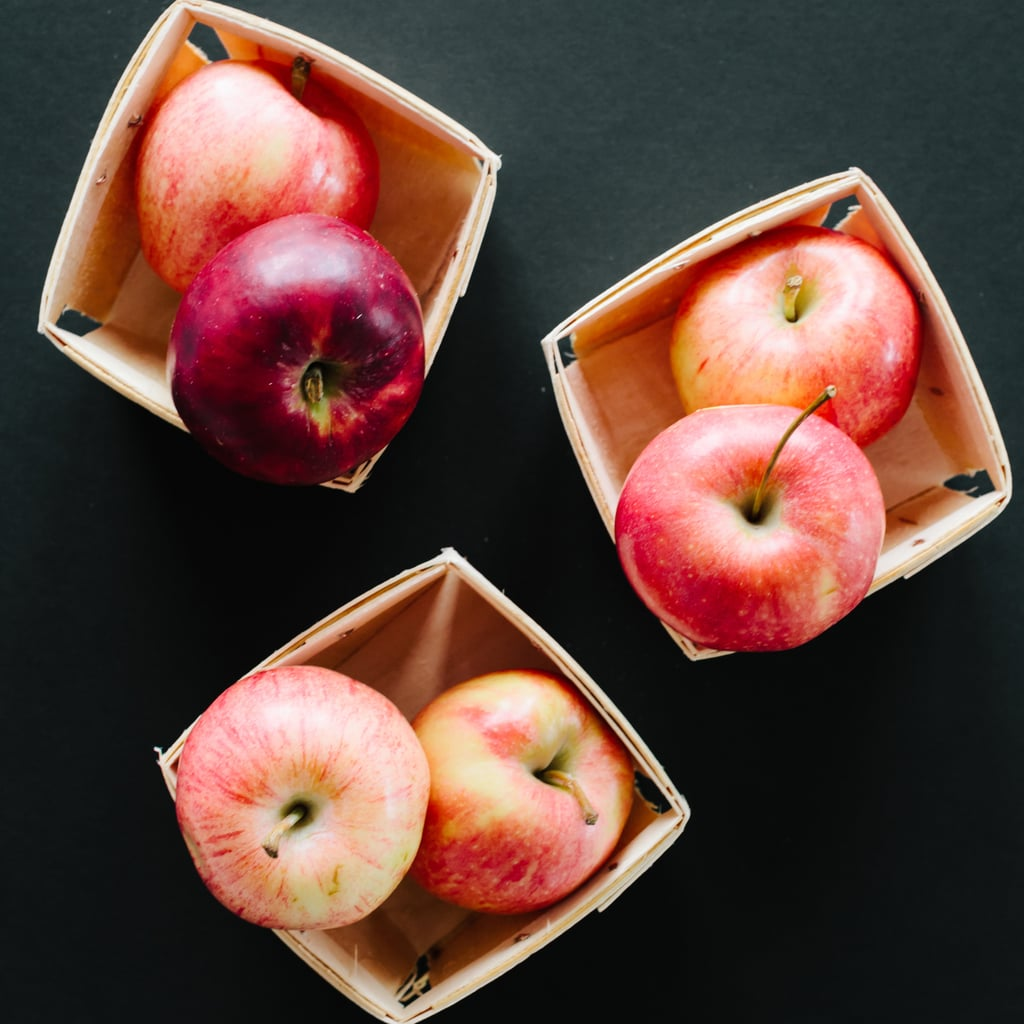 Try apples for healthy hair, nails, and teeth