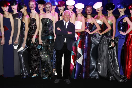 Giorgio Armani Denies Lady Gaga Influenced His Spring 2011 Couture Collection