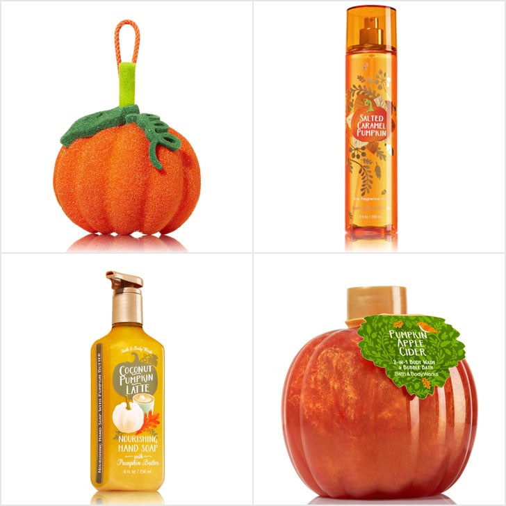 bath and body works pumpkin scents 2016