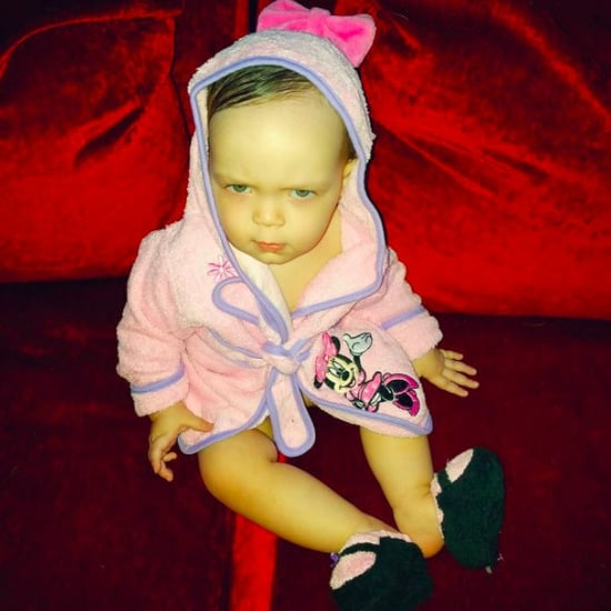 Baby Chanel Angry Face Instagram Photo February 2017