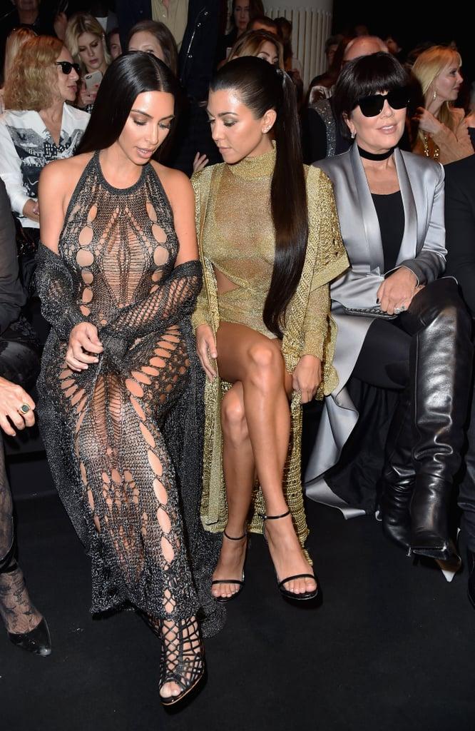 Kim Kardashian, Kourtney Kardashian, and Kris Jenner