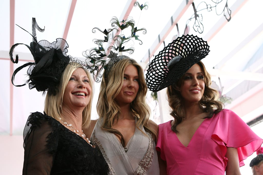 2009: Olivia Newton-John, Jennifer Hawkins and Rebecca Judd