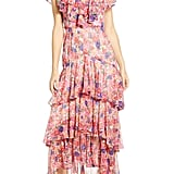 WAYF Chelsea Tiered Ruffle Maxi Dress