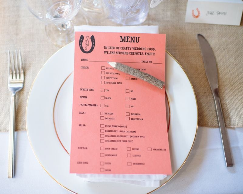 No-Nonsense Menus