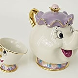 Beauty and the Beast Teapot and Cup
