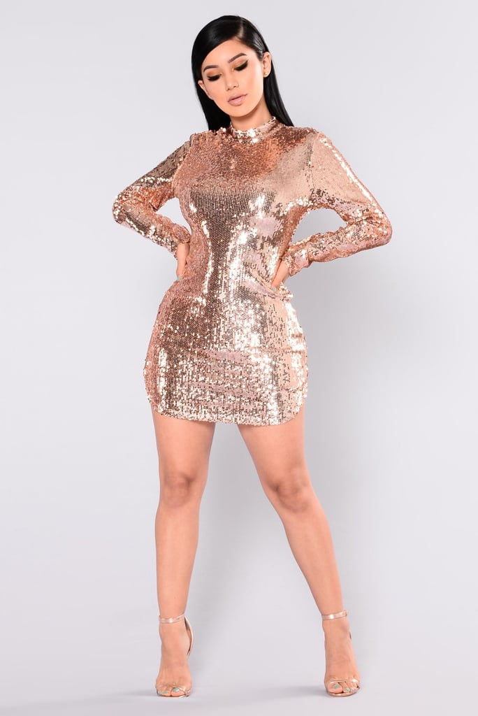 b32334c6614 Fashion Nova Expose Sequin Dress
