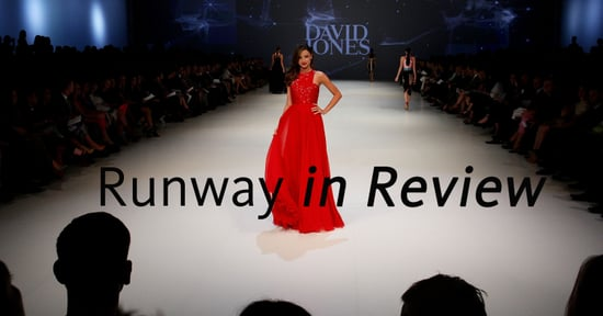 Pictures of Miranda Kerr and Models on the David Jones Spring Summer 2011 Runway Show in Sydney: See the new season styles!