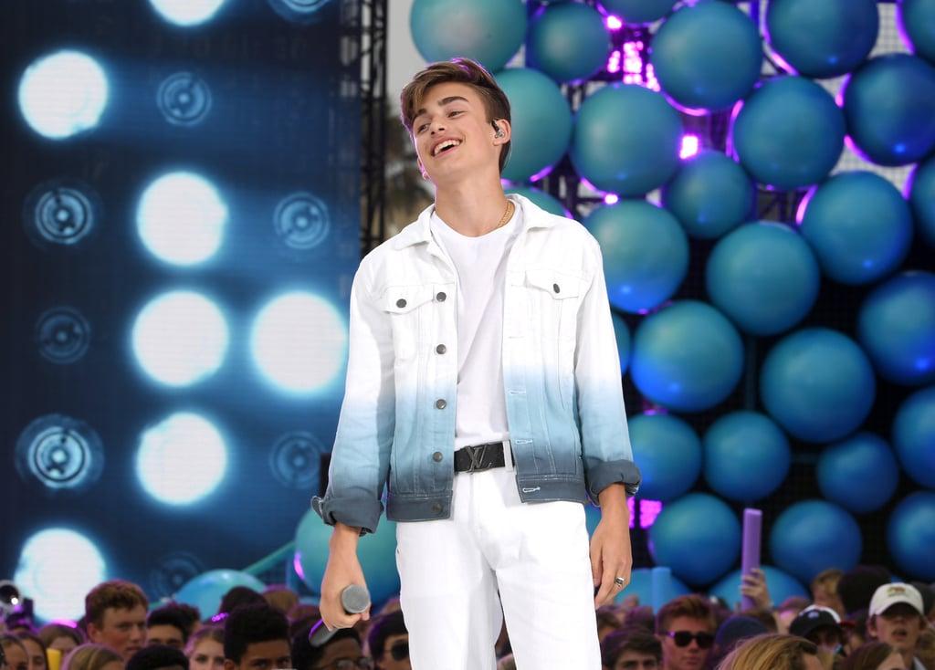 Johnny Orlando at the Teen Choice Awards 2019
