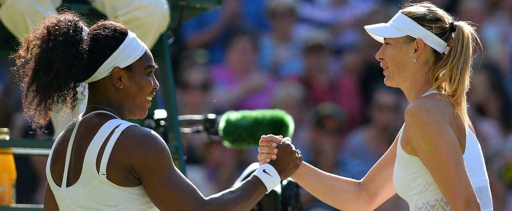 Serena Williams vs. Maria Sharapova Record