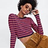 Zara Multicolor Crop Top