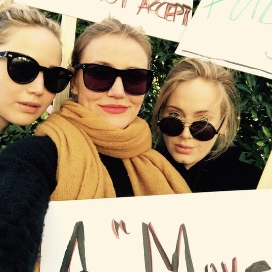 Celebrity Women's March Instagram Pictures January 2018