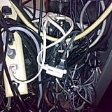 Exposed Electrical Cords
