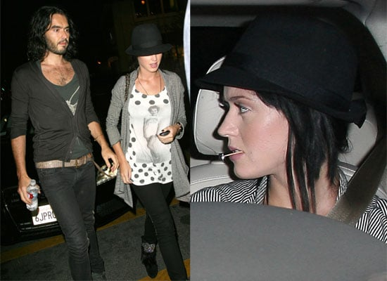 Gallery of Photos of Russell Brand and Katy Perry Out Together