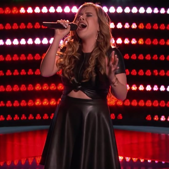 "Elia Esparza Singing Selena's ""Como La Flor"" on The Voice"