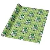 Harry Potter Charming Slytherin Crest Wrapping Paper