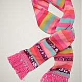 Gap Striped Fleece Sequin-Trim Scarf ($13)