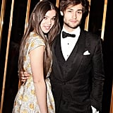 Hailee Steinfeld and Douglas Booth at the Swarovski afterparty in New York. Photo: Matteo PrandoniBFAnyc.com