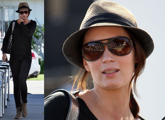 Photos of Emily Blunt out in Los Angeles
