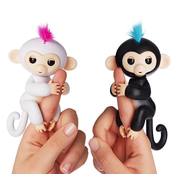 WowWee Fingerlings Interactive Baby Monkey