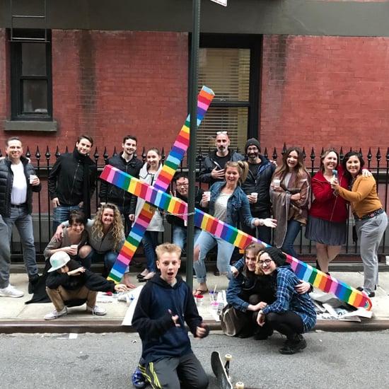 Gay Street Rainbow Cross New York City