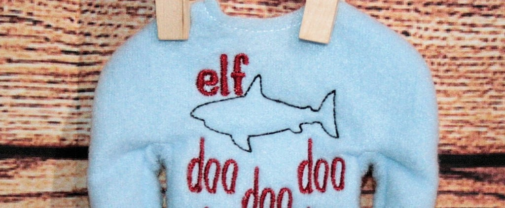 Baby Shark Elf on the Shelf Sweater on Etsy