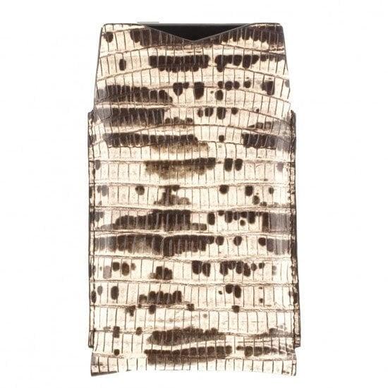 Lanvin lizard print case ($175)