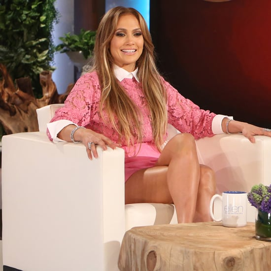 Jennifer Lopez on The Ellen DeGeneres Show May 2015