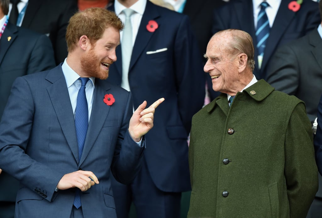 Photos of Prince Harry and Prince William