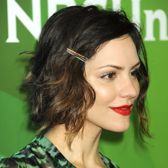 How to Wear Neon Bobby Pins Like Katharine McPhee