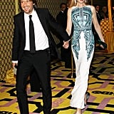 Keith Urban and Nicole Kidman at the 2012 Emmy Awards