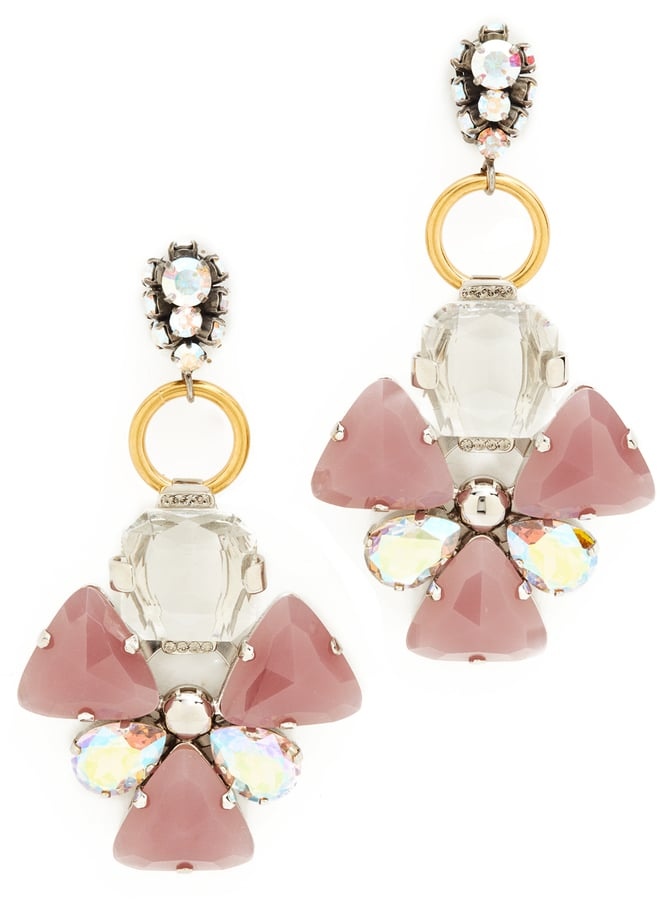 You don't have to wait for a special occasion to whip out these Marni Strass earrings ($795). Wear them with your everyday basics and everything in between.