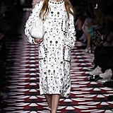 Gigi Hadid Walking in the Miu Miu Show