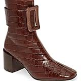 Jeffrey Campbell Godard Colorblock Buckle Boot