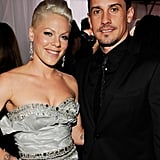 Pink and Carey Hart, 2010