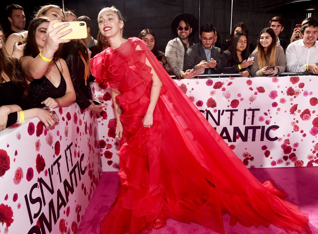 Miley Cyrus at Isn't It Romantic Premiere Pictures