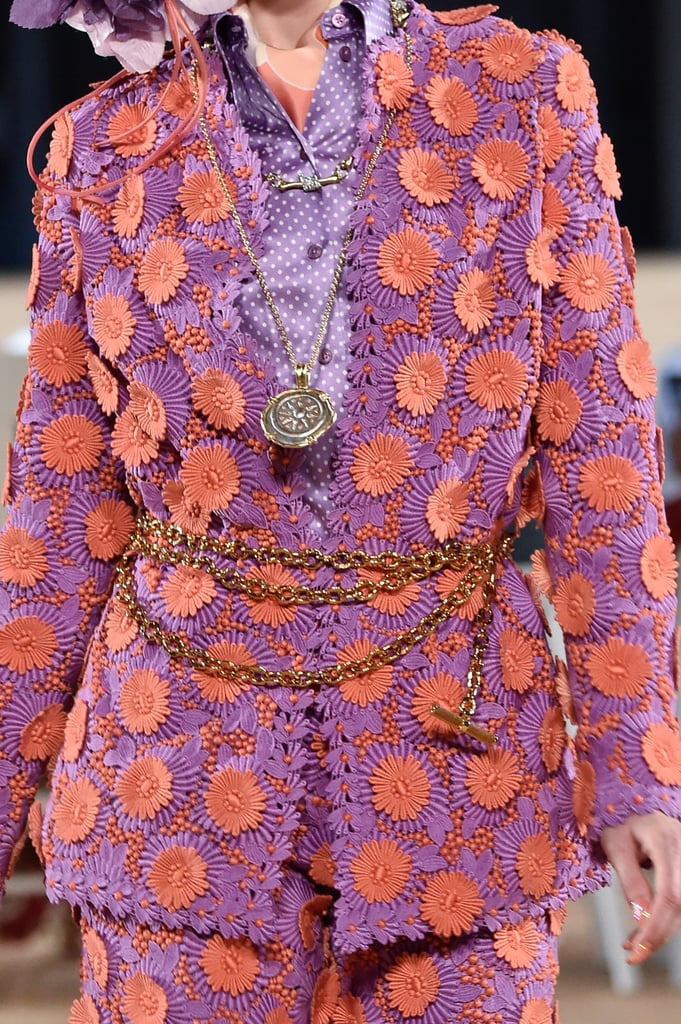 A Chain Belt on the Marc Jacobs Runway During New York Fashion Week