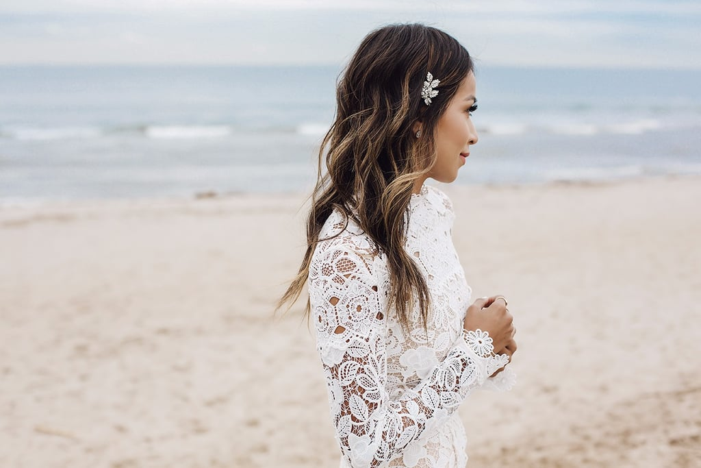 Blogger Sincerely Jules Wedding Dress
