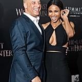 Vin Diesel and Ciara on Red Carpet October 2015