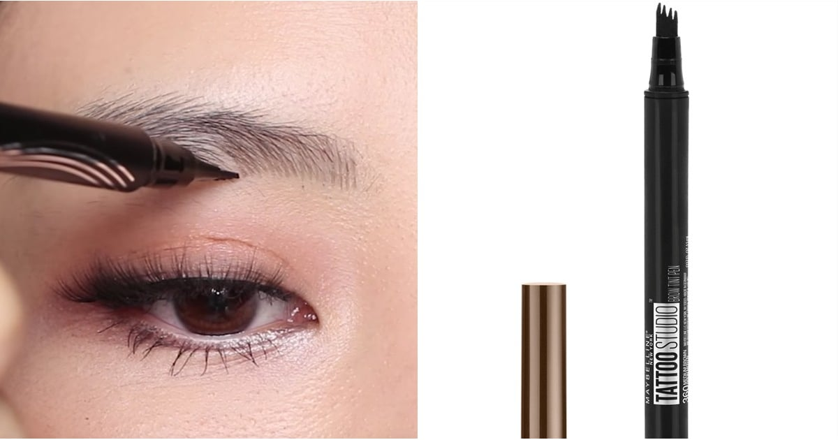 Maybelline tattoo studio brow tint pen popsugar beauty for Maybelline eyebrow tattoo