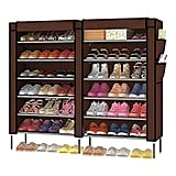H&B Luxuries 7-Tier Portable Shoe Rack Organizer
