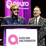 Pictured: Elton John and David Furnish