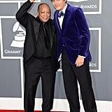 Quincy Jones and John Mayer