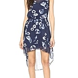 Haute Hippie Floral High Low Dress ($535)