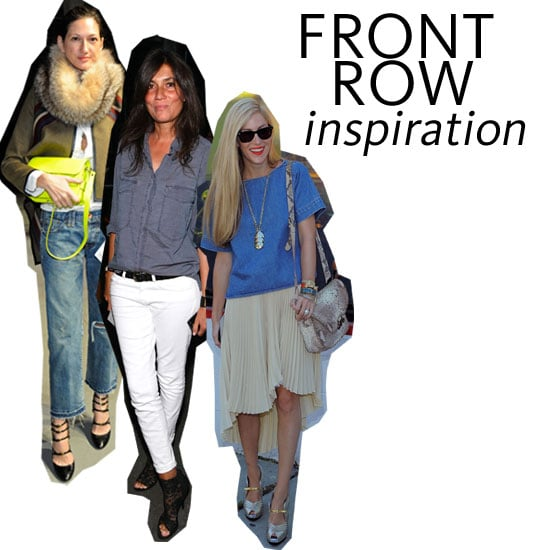 Front Row Icons: 5 Outfit Ideas for Mercedes Benz Fashion Week from Emmanuelle Alt, Joanna Hillman & More